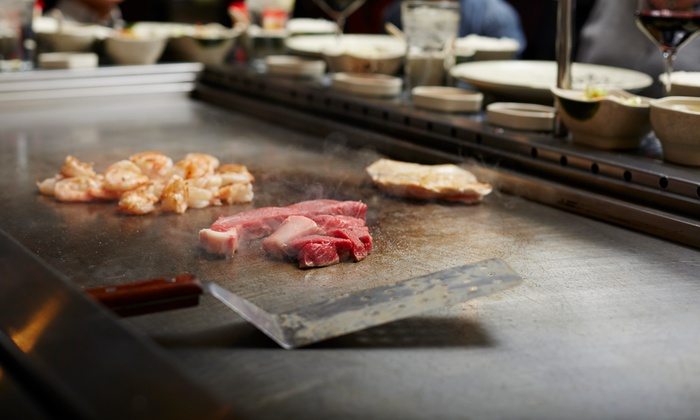 Kumo Japanese Steak House - Multiple Locations: $16 for $30 Worth of Japanese Cuisine and Sushi at Dinner for Two at Kumo Japanese Steak House