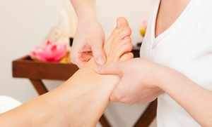 Foot Relax: One or Three Foot Reflexology Treatments or Head, Neck, and Arm Massages at Foot Relax (Up to 68% Off)