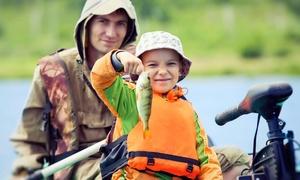 Naturix Ocio: Visita guiada por la granja acuícola, clase de pesca y pesca para adulto y niño con caña desde 14,95 € en Naturix Ocio