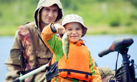 Visita guiada por la granja acuícola, clase de pesca y pesca para adulto y niño con caña desde 14,95 € en Naturix Ocio