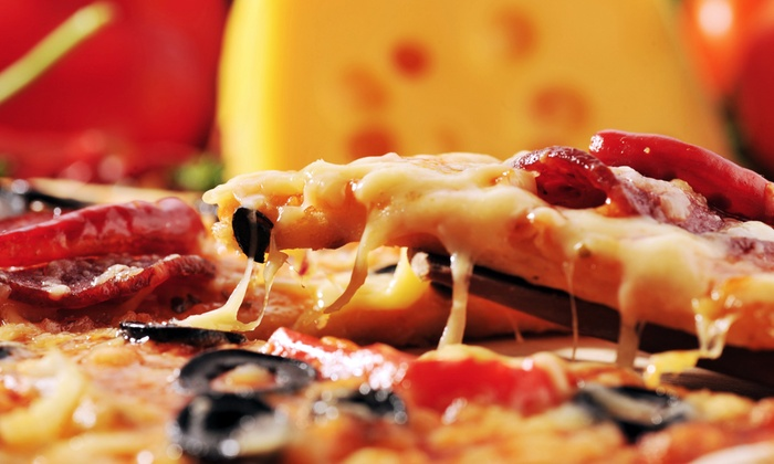Pirrone's Pizzeria - Multiple Locations: Pizza and Italian Food at Pirrone's Pizzeria (45% Off). Two Options Available.