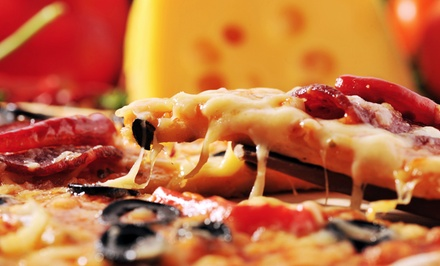 Pizza and Italian Food at Pirrone's Pizzeria (45% Off). Two Options Available.