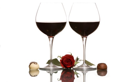 $45 for Wine and Chocolate Pairing for Two at Pieces of Chocolate ($90 Value)
