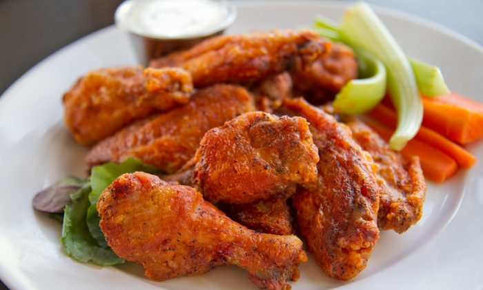 The Buffalo Spot - Lincoln Park: Wings and American Comfort Food at The Buffalo Spot (Up to 40% Off). Two Options Available.