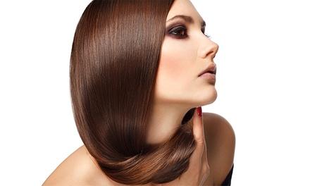Tratamiento de queratina y corte de pelo por 59,95 €