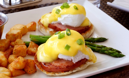 Weekend Brunch for Two or Four at The Reef (45% Off)