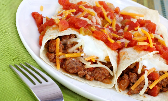Taco Maker Mexican Grill - University Park: $15 for Three $7 Groupons for Mexican Food for Two or More at Taco Maker Mexican Grill ($21 Total Value)