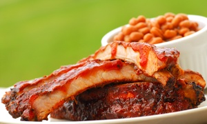 Brooks Backyard BBQ: Barbecue at Brooks Backyard BBQ(Up to 42% Off). Two Options Available.