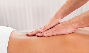 The Wellness Center: $30 for a 60-Minute Massage at The Wellness Center ($60 Value)