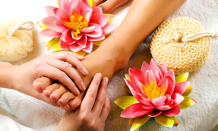 Fountain of Youth Medical Laser Spa and Wisconsin Pain Management/Tranquility Med Spa - Multiple Locations: One or Three Reflexology Sessions with Aromatherapy (Up to 63% Off). Two Locations Available.