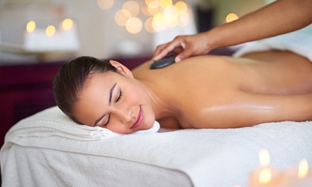 Body and Foot Massage Packages for One or Two with Hot Stones at Happy Feet (Up to 55% Off)