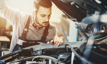 Conventional or Synthetic Oil Change at Integrity Automotive Service and Goodyear (Up to 52% Off)