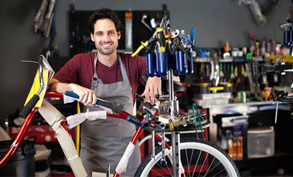 image for Deluxe Bicycle Health Check or Annual Tune-Up and 10% Off any Pre-Owned Bike at Archer's Bikes (Up to 59% Off)