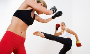 Elite Martial Arts & Fitness: One Month of Kickboxing Classes, or 5 or 10 Kickboxing Classes at Elite Martial Arts & Fitness (Up to 66% Off)