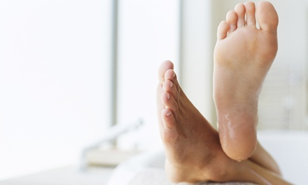 One or Four Laser Fungus-Removal Treatments for Up to 5 or 10 Toenails at BARELaser (Up to 72% Off)