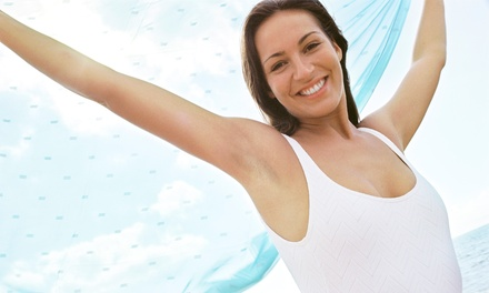 Six Laser Hair Removal Sessions