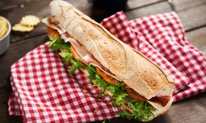 Le Buffet Engagé: Sandwich, canette et dessert au choix à 7,40 € chez Le Buffet Engagé