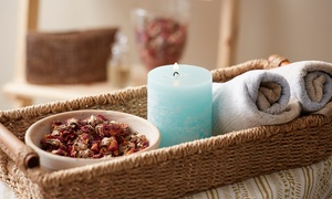 Healthy Health Centre: Relaxing with Optional Scrub or One or Five Contouring or Tissue Spa Treatments at Healthy Health Centre (Up to 73% Off)