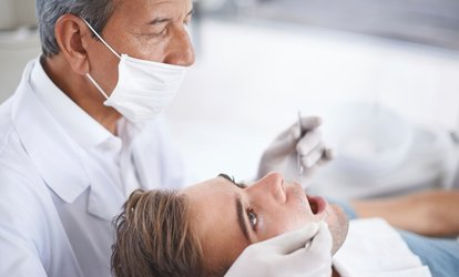 image for <strong>Dental</strong> Exam, X-Ray and One Cleaning at Champion Dentistry (Up to 89% Off)