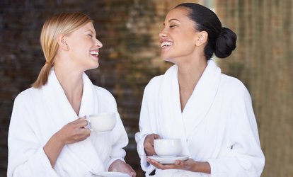 image for Spa Access with Afternoon Tea or Two-Course Lunch at Holiday Inn Hotel Brentwood (Up to (79% Off)