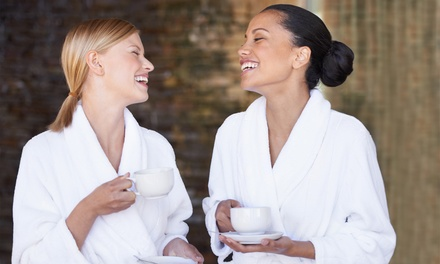 30 minute V-steam for One or 60 minute Massage and V-steam Package for Two (Up to 42% Off)