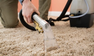 Authentic Five Star Cleaners: Carpet Cleaning Service for Up to Four Rooms and Hallway or Stairs from Authentic Five Star Cleaners (Up to 63% Off)