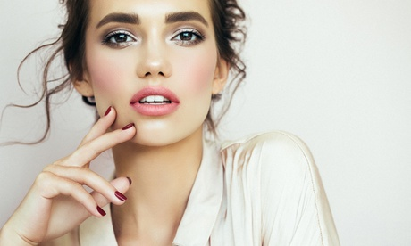 Permanent Makeup for Eyebrows or Full Lips, or Microblading at Soft Touch (Up to 40% Off) 4a477cd5-20ba-48a4-b15c-e2133fd273ce