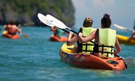 Travesía piragua Kayak o dragón con monitor desde 14,95 € en Club Escuela de Piragüismo Aranjuez