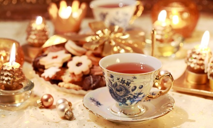 Festive Afternoon Tea for Two or Four at The Coffee Factory