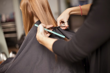 Up to 61% Off on Salon - Haircut - Women at The Hair Lounge Miami
