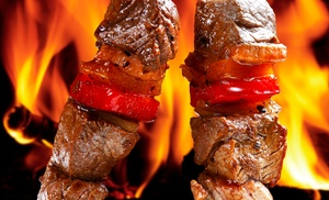 The Kabob House Mediterranean Grill: 60% off at The Kabob House Mediterranean Grill
