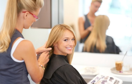 Up to 68% Off on Hair Styling at CM Beauty Care