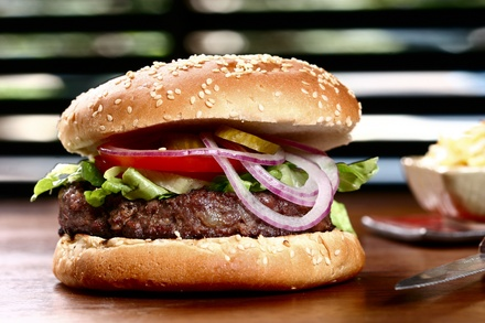 Up to 44% Off on Restaurant Specialty - Burgers at Broadway Mart-N-Diner