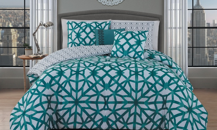 Comforter 5 Pieces Groupon Goods