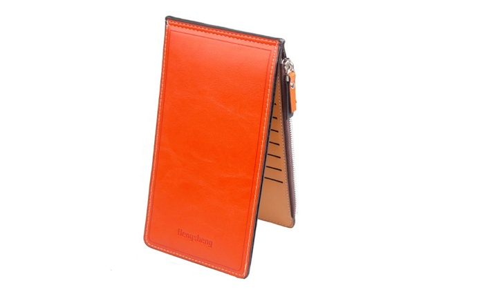 Trend Matters Women's Slim Card Holder Wallet