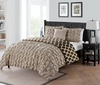 Scottsdale Reversible Pleated Comforter Set (3 or 4-Piece)
