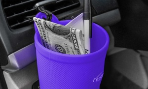 Eco-Friendly Silicone Car Clip-On Cup Holder