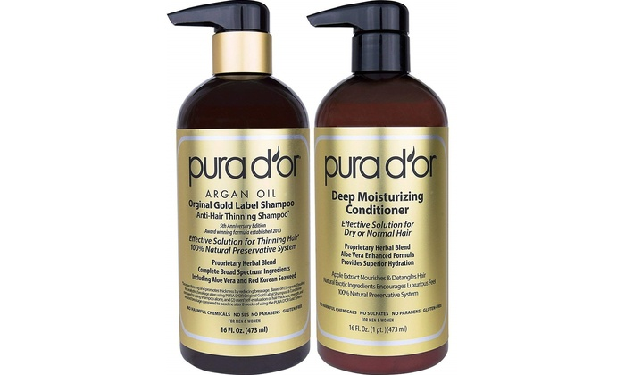 Up To 60% Off on Pura D'Or Hair Products | Groupon Goods