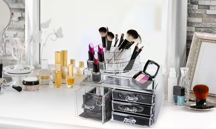 Acrylic Makeup Organizers and Storage Display Cases