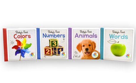 Baby's First Large Board Book Set (4-Pack)