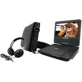 """Sylvania 7"""" Portable DVD Player with Bag and Headphones (Manufacturer Refurbished) 89c4257e-909f-11e6-a671-00259060b5da"""