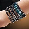 One- or Two-Piece Austrian Crystal Wrap Bracelets