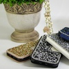 Dazzling Stones Wallet Case for iPhone and Samsung