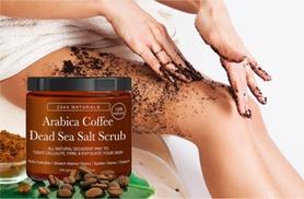 Anti-Cellulite Arabica Coffee and Dead Sea Salt Scrub