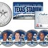 Dallas Cowboys Farewell to Texas Stadium 6-Coin Quarters Set
