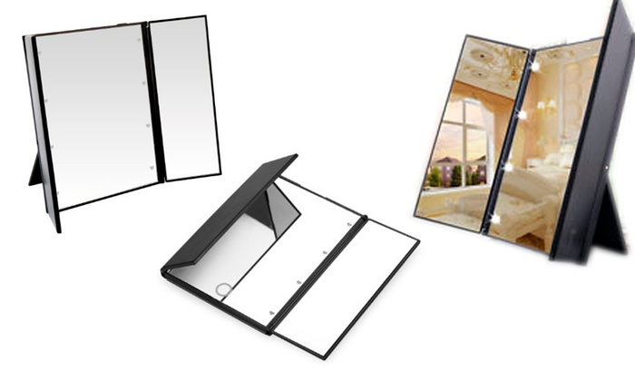 Up To 46 Off On Trend Matters Led Lighted Mirror