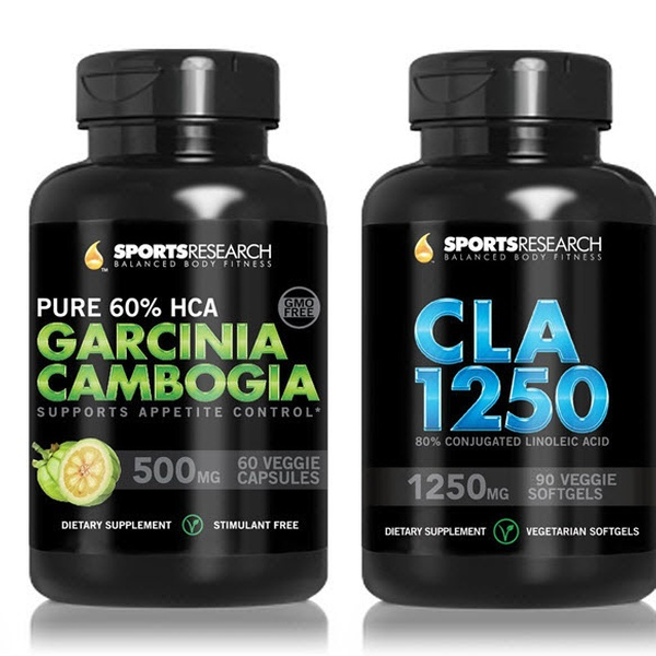 Sportsresearch Garcinia Cambogia Weight Loss Supplement 2 Pack
