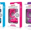 Screaming O Rechargeable Vibrating C-Ring Combo Kit (3-Piece)
