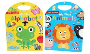 My First Alphabet and My First Animals Book Set (2-Piece)