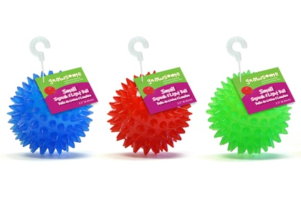 Gnawsome Squeak and Light Balls (3-Pack)